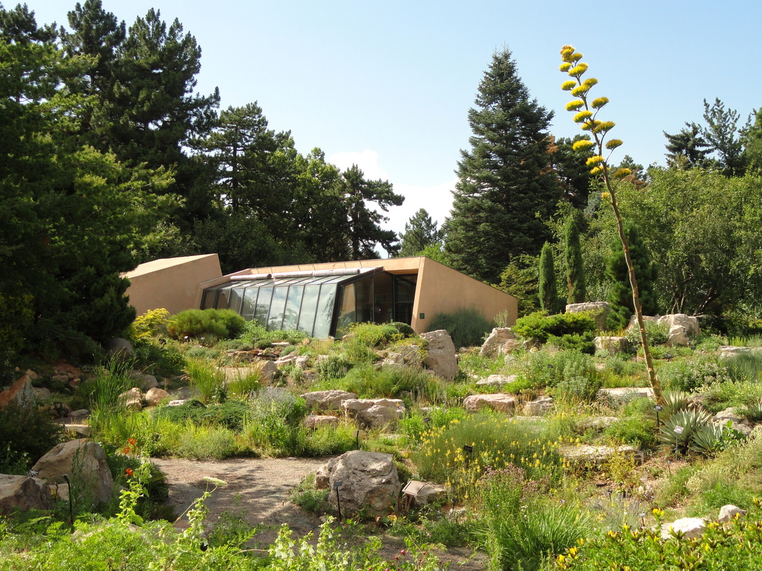 General View Of Denver Botanic Gardens, 1007 York Street, Denver, Colorado,  USA