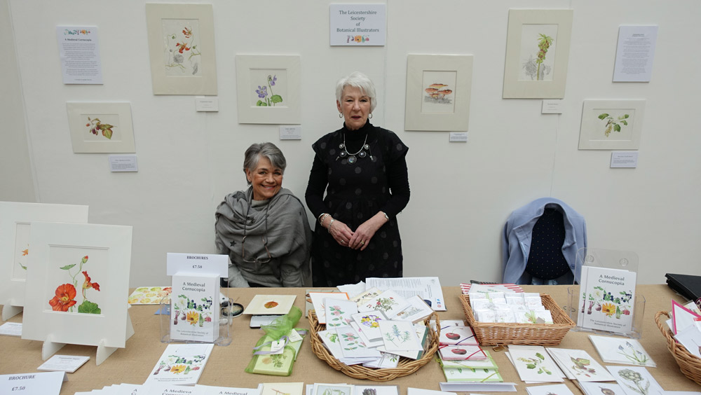 Leicestershire Society of Botanical Illustrators at RHS London Botanical Art Show 2016