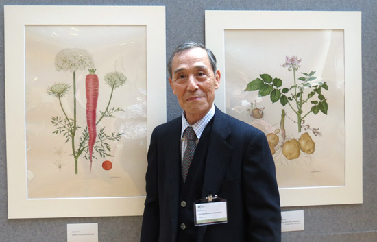 Best Painting in the RHS Botanical Art Show 2015
