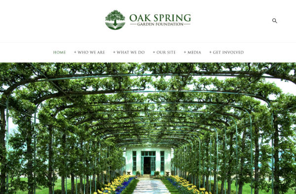 Oak Spring Foundation website
